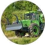 Forestry tractor EQUUS 175N